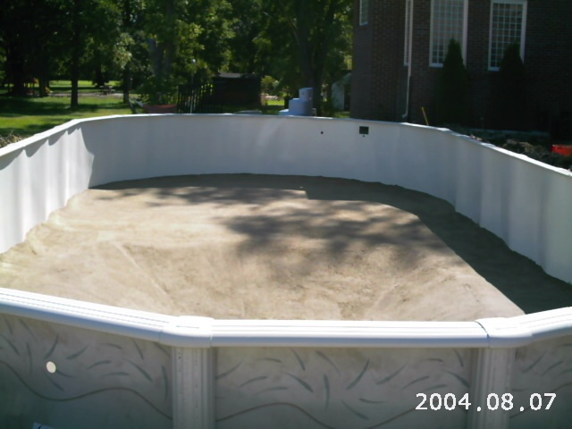 Oval Above Ground Pool Decks