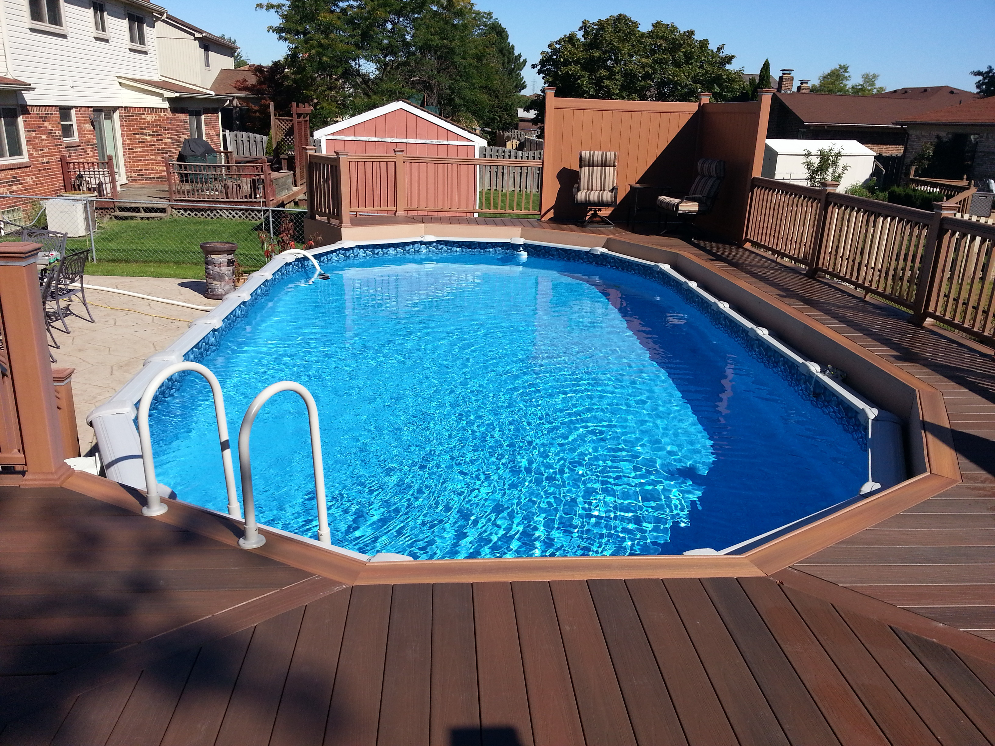 Above Ground Pool Liners - Aboveground 15x30 deck 3 e1456378927100