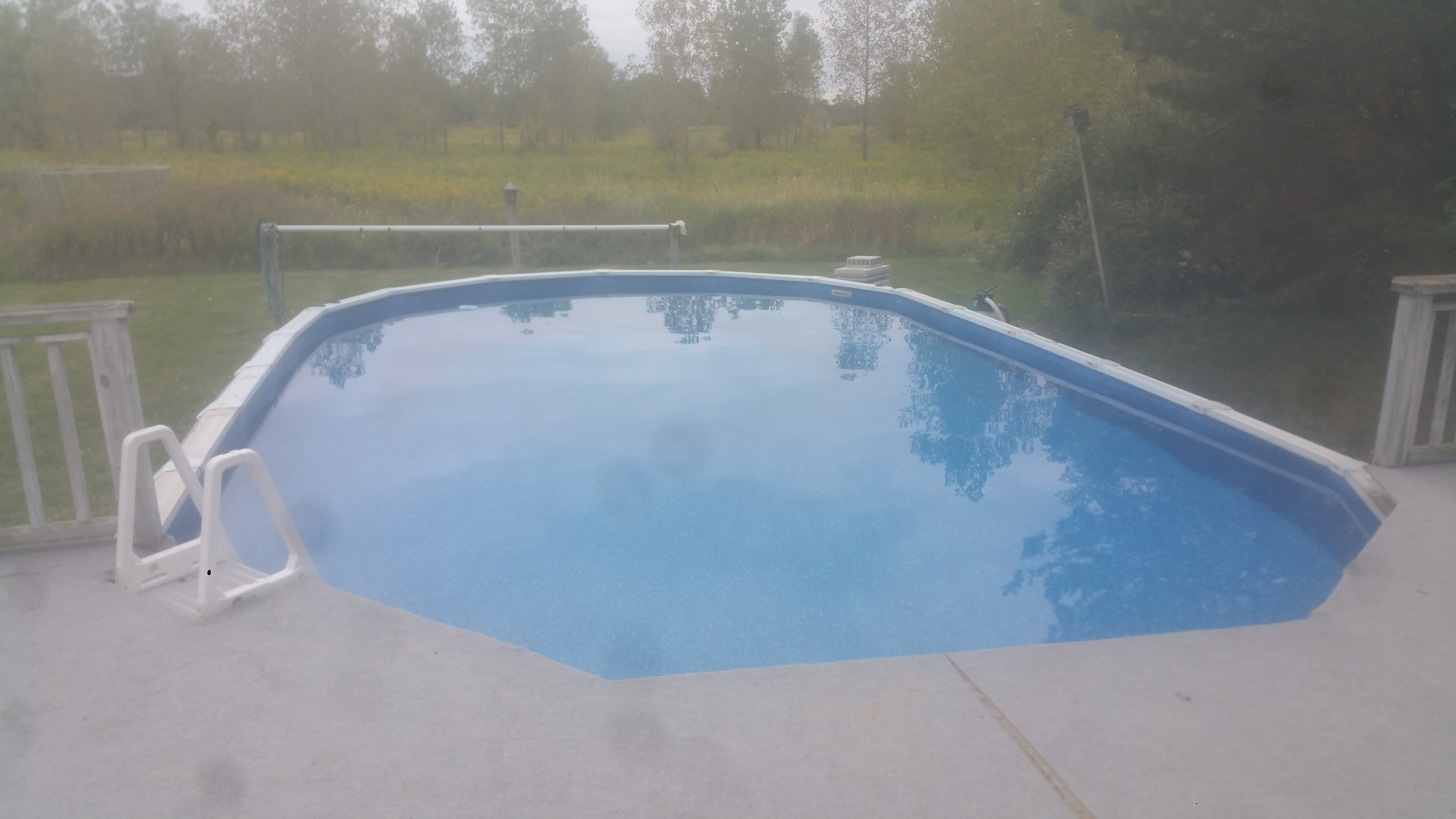 Pool liner replacement crystal clear pools mi for Pool show michigan
