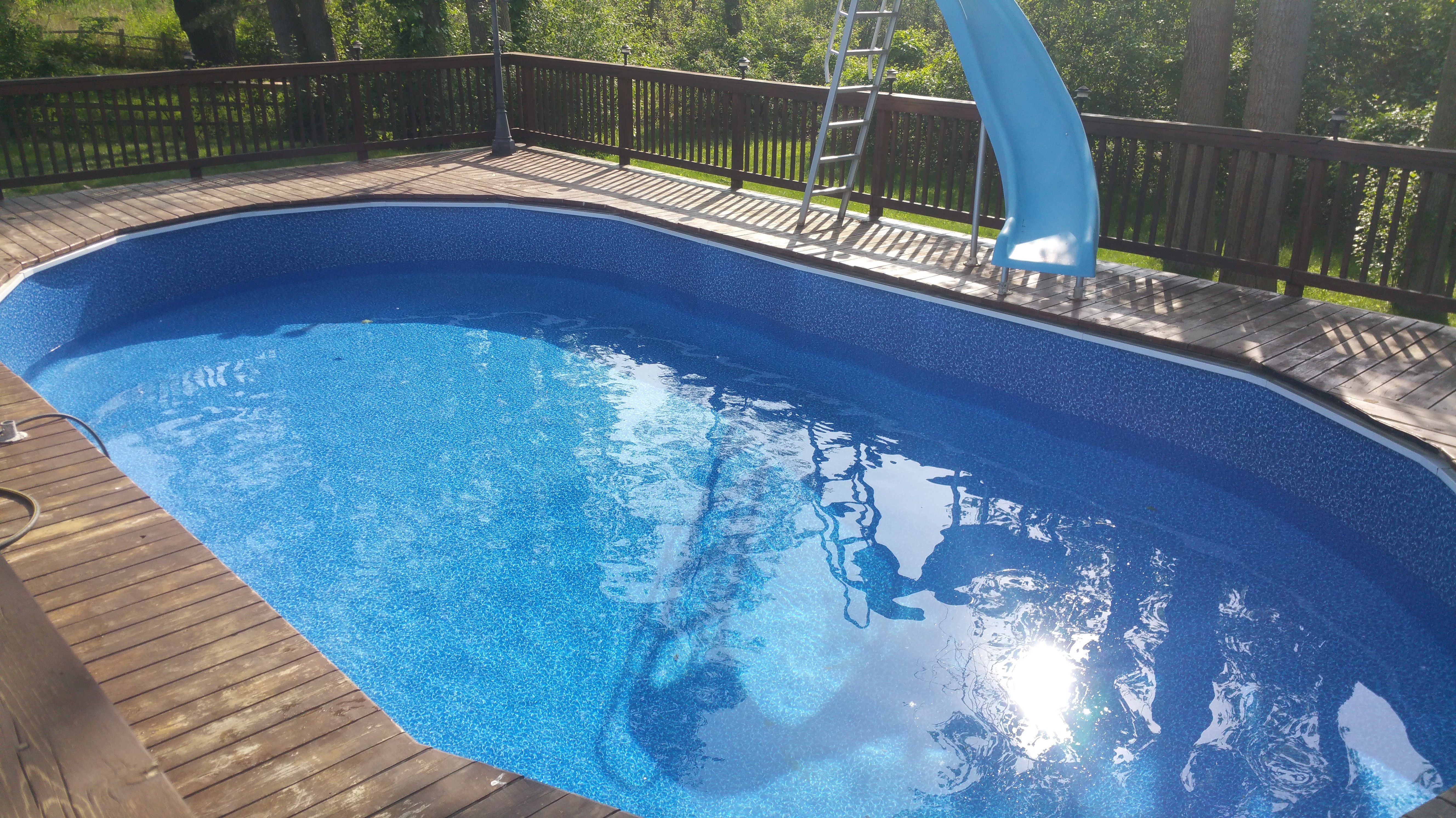 Pool Liner Replacement Crystal Clear Pools Mi