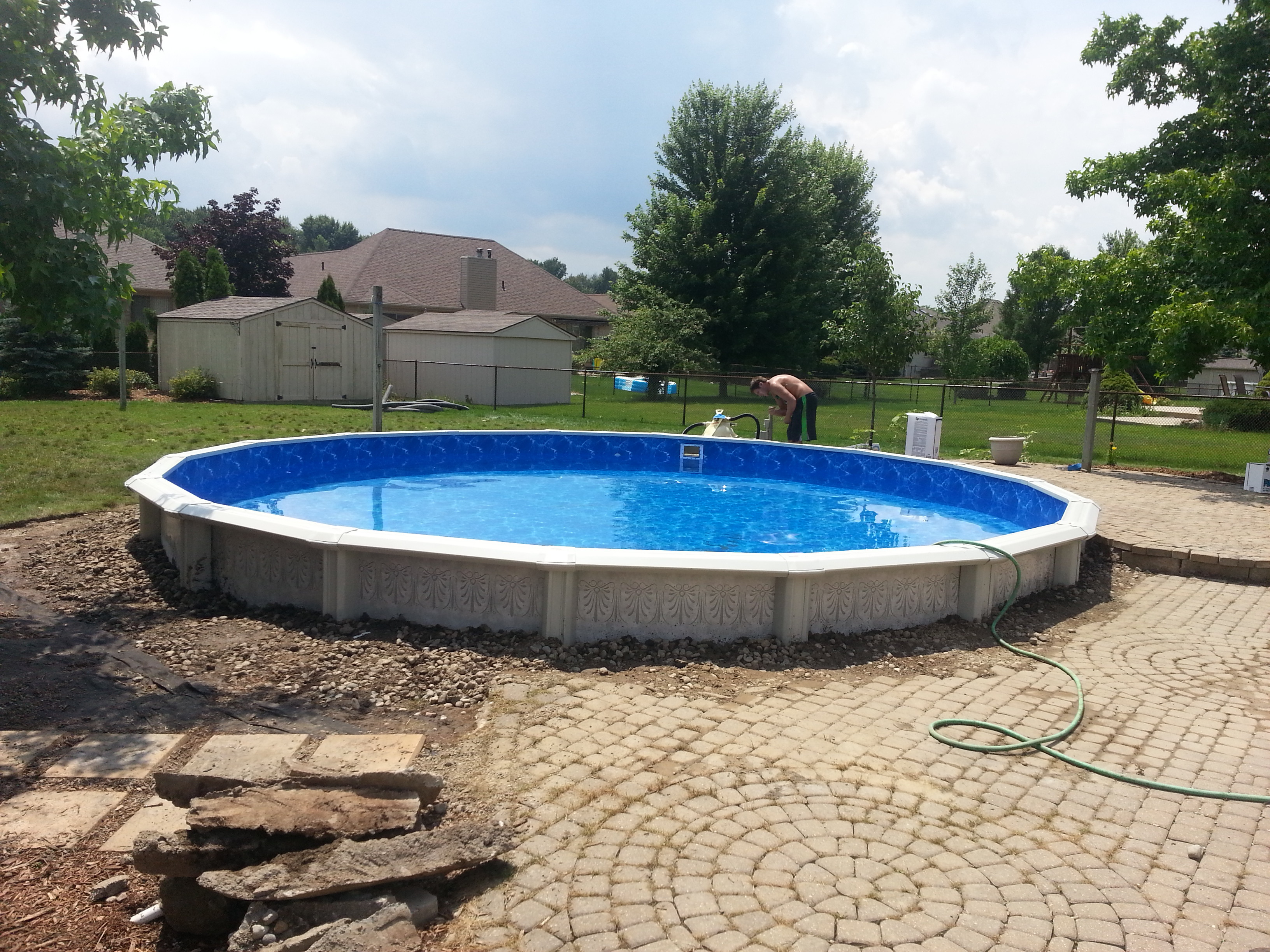 Pool Relocation Crystal Clear Pools Mi