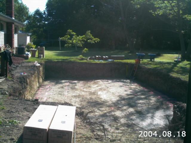 Semi Buried Aboveground Pools Crystal Clear Pools Mi