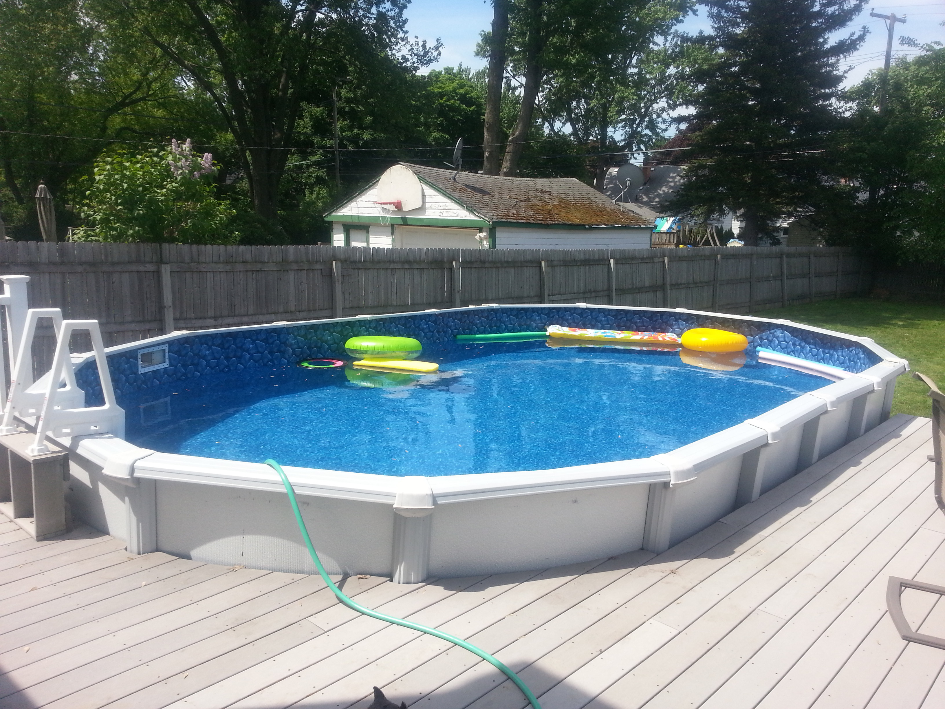 Image Gallery Oval Pools
